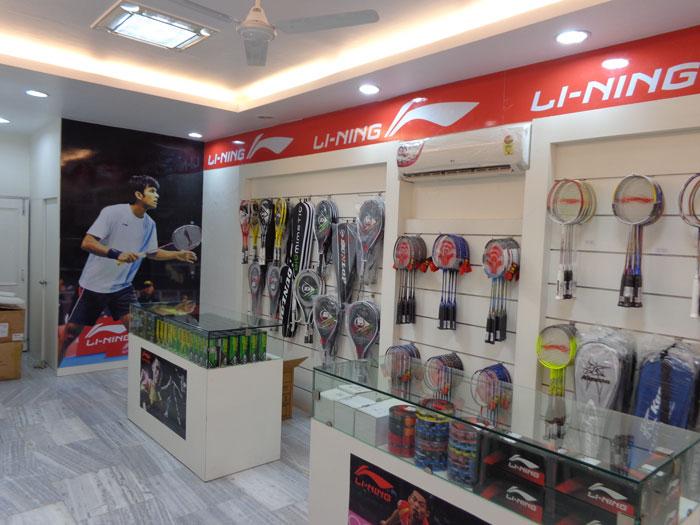 SUNLIGHT Sports Mart Li-ning Badminton Shop   Store at Mohali ... 56da37ae1fb8c
